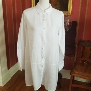 White Linen Tunic/Dress